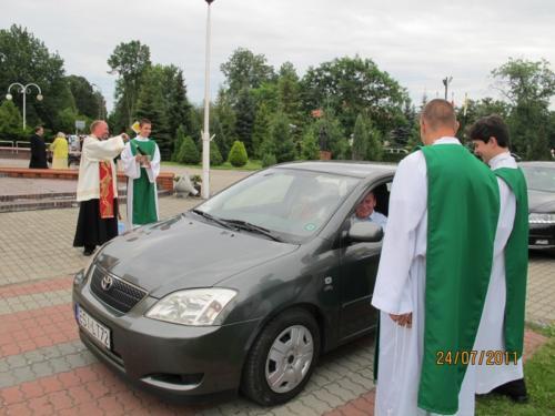24 Lipca 2011r. Święty Krszysztof u Świętej Urszuli