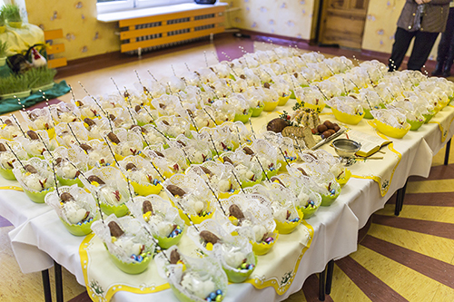 Poświęcenie pokarmów w przedszkolu 2016